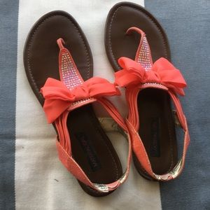 Bow Sandals (9.5)
